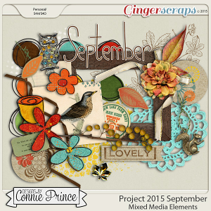 Project 2015 September - Mixed Media Elements