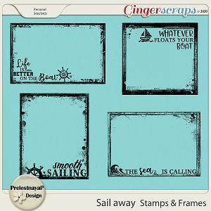 Sail away Stamps & Frames
