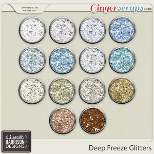 Deep Freeze Glitters by Aimee Harrison