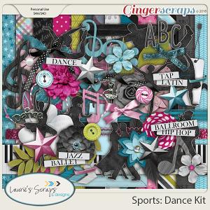 Sports: Dance Page Kit