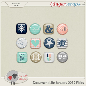 Document Life January 2019 Flairs by Luv Ewe Designs