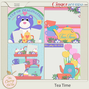 The Cherry On Top:  Tea Time Templates