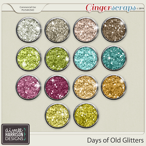 Days of Old Glitters by Aimee Harrison