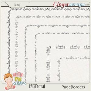 Page Borders 52 By Cutie Pie Scraps