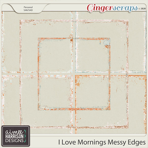I Love Mornings Messy Edges by Aimee Harrison