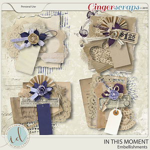 In This Moment Embellishments by Ilonka's Designs