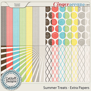 Summer Treats - Extra Papers