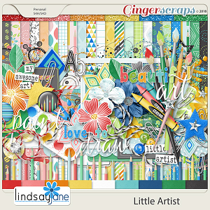 Little Artist by Lindsay Jane
