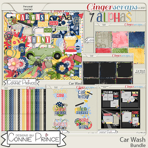 Car Wash  - Bundle by Connie Prince