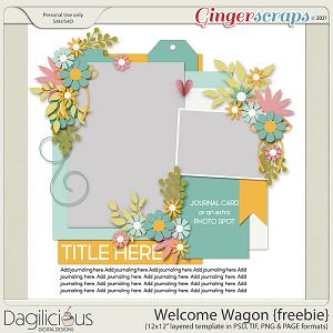 Welcome Wagon Template Freebie by Dagilicious
