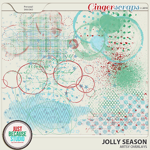 Jolly Season Artsy Overlays by JB Studio
