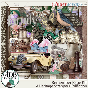 Remember Page Kit by ADB Designs