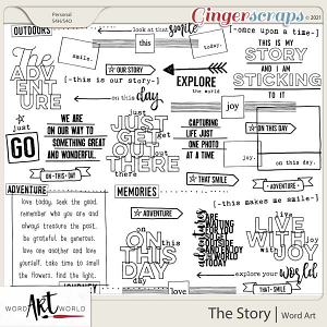 The Story Word Art
