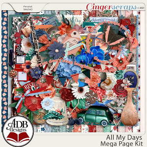 All My Days Mega Kit by ADB Designs