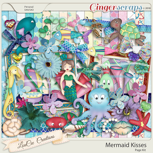Mermaid Kisses Page Kit
