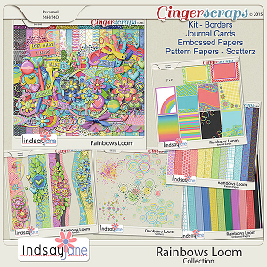 Rainbows Loom Collection by Lindsay Jane