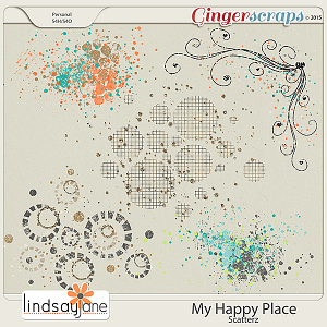 My Happy Place Scatterz by Lindsay Jane