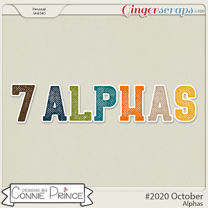 #2020 October - Alpha Pack AddOn by Connie Prince