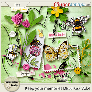 Keep your memories Mixed Pack Vol.4