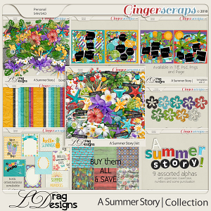 A Summer Story: The Collection by LDragDesigns