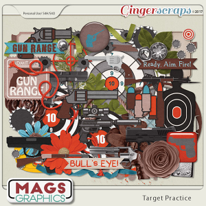 Target Practice ELEMENTS by MagsGraphics