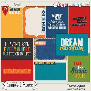 Travelogue - Journal Cards