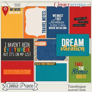 Travelogue - Journal Cards