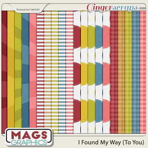 I Found My Way To You EXTRA PAPERS by MagsGraphics
