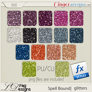 Spellbound: Glitterstyles by LDragDesigns