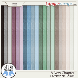 A New Chapter Solid Papers by ADB Designs