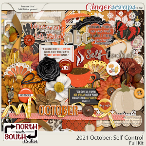 2021 October: Self-Control Full Kit by North Meets South Studios