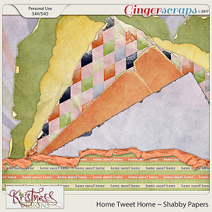 Home Tweet Home Shabby Papers