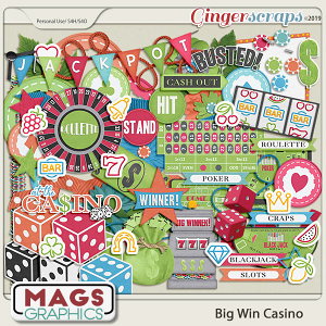 Big Win Casino ELEMENTS by MagsGraphics