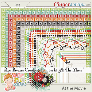 At The Movie-Page Borders