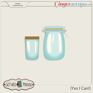Yes I Can CU Templates- Scraps N Pieces