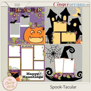 The Cherry On Top Spook-Tacular Templates