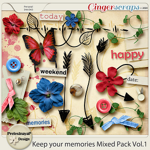 Keep your memories Mixed Pack Vol.1
