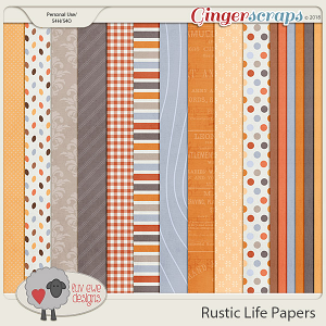 Rustic Life Papers by Luv Ewe Designs