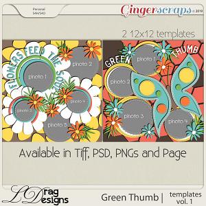 Green Thumb: Templates Vol. 1 by LDragDesigns