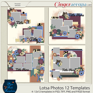Lotsa Photos 12 Templates by Miss Fish