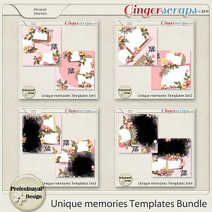 Unique memories Templates Bundle