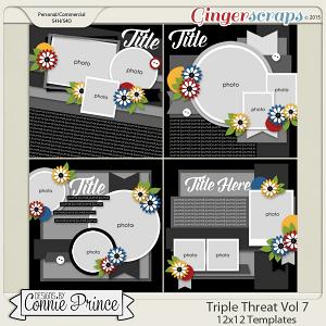 Triple Threat Volume 7 - 12x12 Temps (CU Ok)