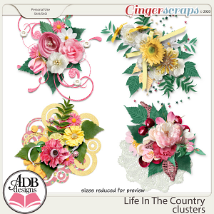 Life In The Country Clusters by ADB Designs
