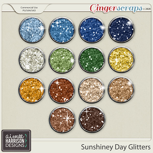 Sunshiney Day Glitters by Aimee Harrison