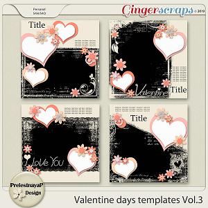 Valentine Day Templates Vol.3