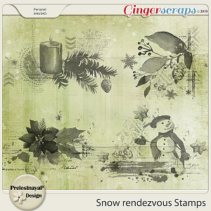 Snow rendezvous Stamps