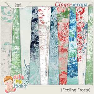 Feeling Frosty Shabby Chic Papers