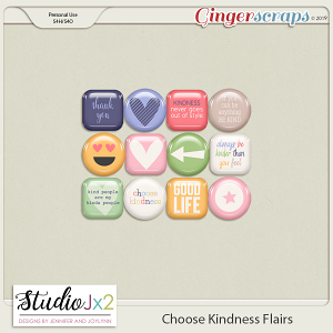 Choose Kindness Flairs