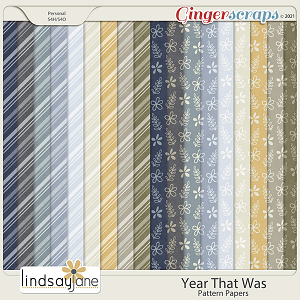 Year That Was Pattern Papers by Lindsay Jane