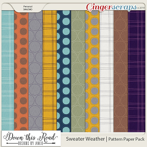 Sweater Weather | Pattern Paper Pack